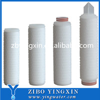 High Quality Folded Filter Cartridge-Fiber Glass Made In China
