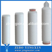 High Quality Folded Filter Cartridge Fiber