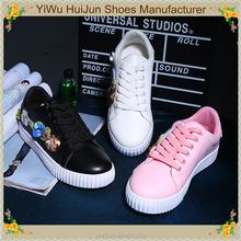 New Sexy Embroidered Casual Women Latest Design Lady Flat Casual Shoes