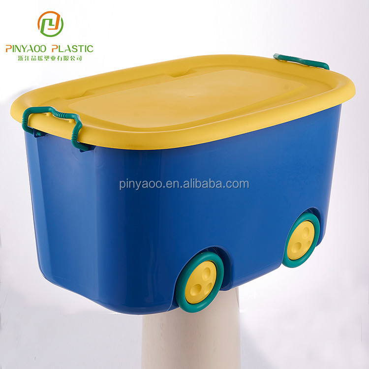 Competitive price customized household big toy storage box