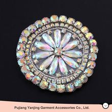 Latest Wholesale unique design new arrival rhinestone shoe accessories from manufacturer