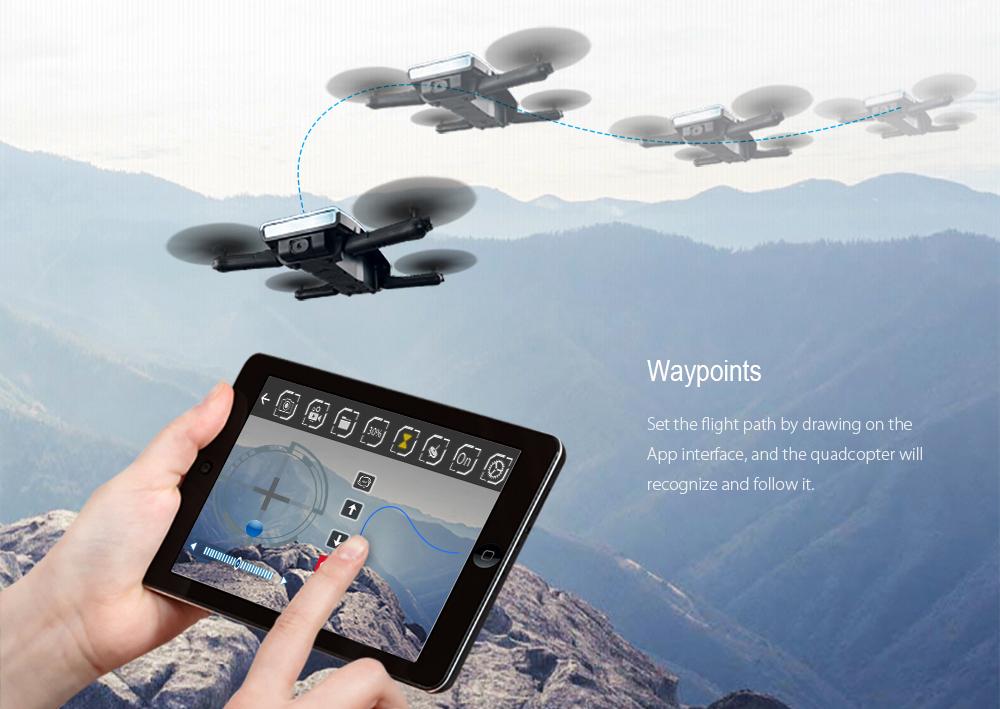 JJRC H47 ELFIE Drone Foldable RC Selfie Dron Quadcopte (1)