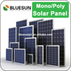 China PV manufacture solar panel 100W 12V poly and mono solar panels for home