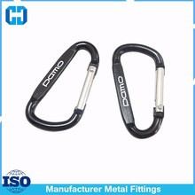 Manufacturing China Factory Mini Metal Carabiner Keyring With Logo