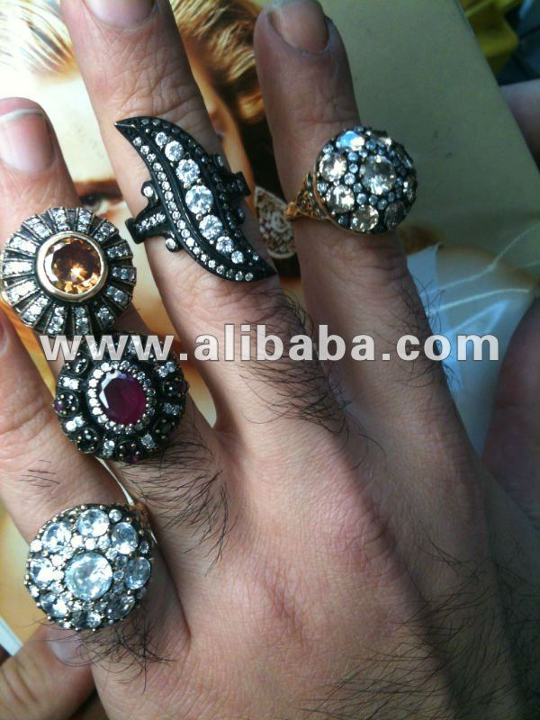 Wholesale Jewelry Manufacturer BUY Direct Antique Jewels Silver Finished Pieces & Mountings or Custom Orders Rings Necklaces