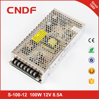 CNDF single output ac to dc power supply 100W 12v 8.5A smps