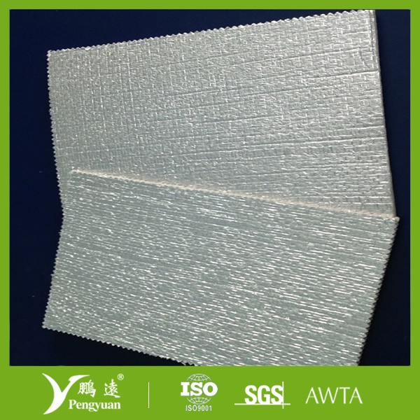 Foil backed XPE foam insulation poly foam insulation material reflective material
