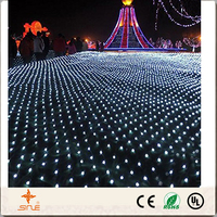 8*10m Outdoor Net Lights RGB Twinkle Wedding,Xmas Fairy String in holiday lighting AC 220V