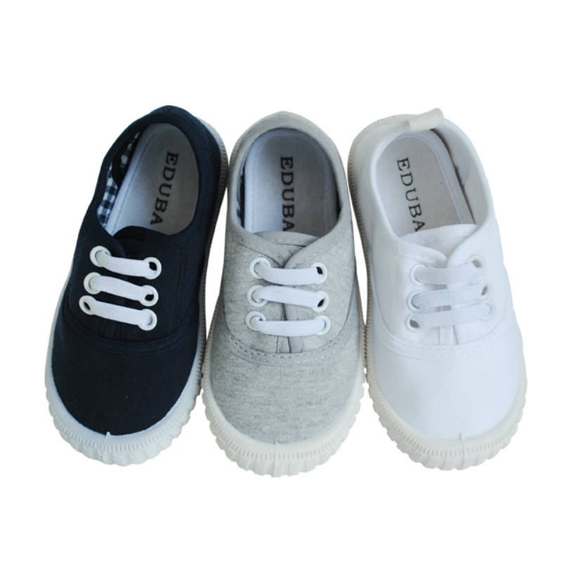 Classic Low Top Canvas <strong>Shoes</strong> For Kids With Low Price