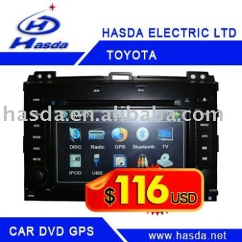 car dvd player for Toyota Prado HZ-5016