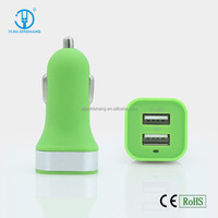 Fast Speed Charging Car USB Charger 3.1A Dual Ports Electric Car Charger For Iphone/Samsung/Ipad