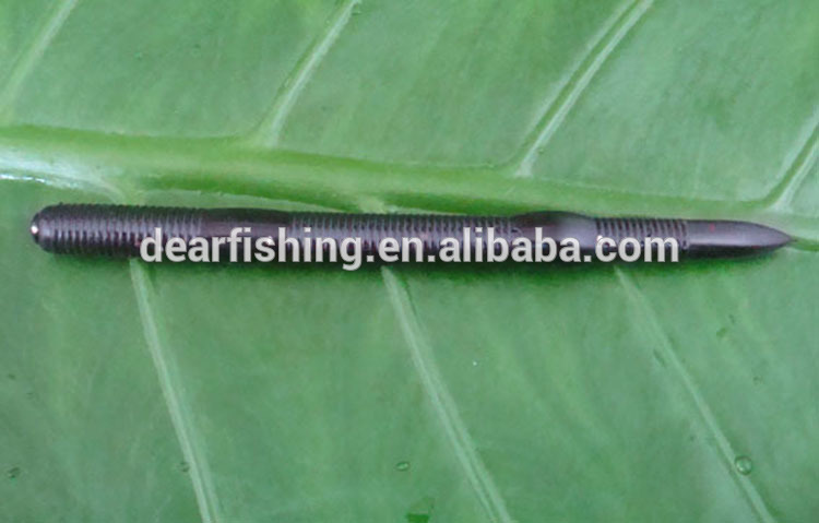 5.5'' 8.8g Bass Lure Artificial Bait Type Soft Worm Baits