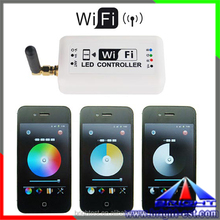 2015 new procduct Led Dimmer Controller 12-24V RGB Led Controller Wifi Bluetooth Led Controller