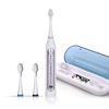 Sonic toothbrush with travel charging case UV Sanitizer