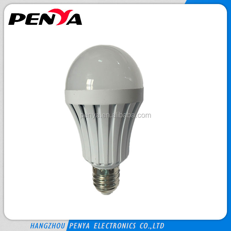 2~4 hours operation time,85-265V E27/B22 series 9W Rechargeable Emergency bulb LED Smart