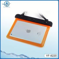 Outdoor sport waterproof bag for ipad carrying case with shoulder strap