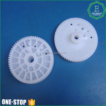 Custom making hardness engineering small injection plastic gear pom gear manufacture