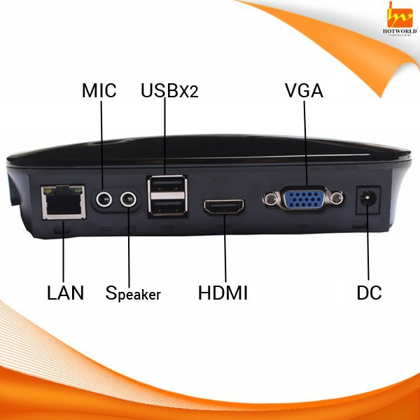 Hotworld HW803 support Win7 one PC Station multi users Computing Thin Client Terminal Computer