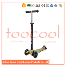 TK02 3 wheel folding children kids Kick scooter for sale
