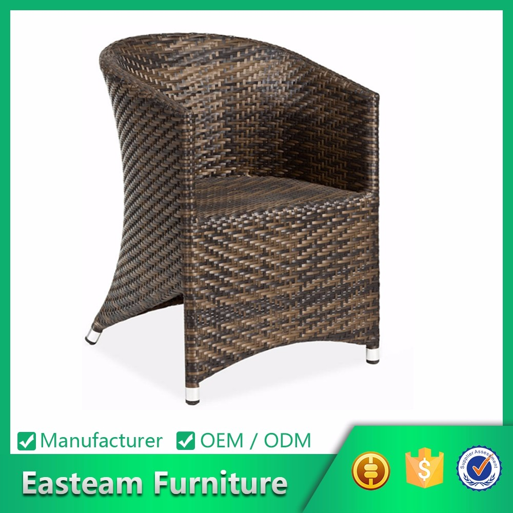 Metal Dining Pool Lounge Restaurant China Designer Modern Outdoor Garden Round Back Replica Design Chair