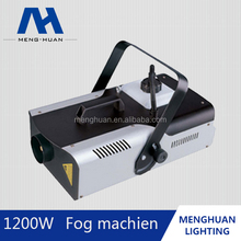 2016 Newest Powerful battery flexsible 1200W dmx 512 Smoke Fog Machine for outdoor& indoor large-scale performance