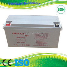 HOT SALE 12V 150AH solar power storage battery for home UPS
