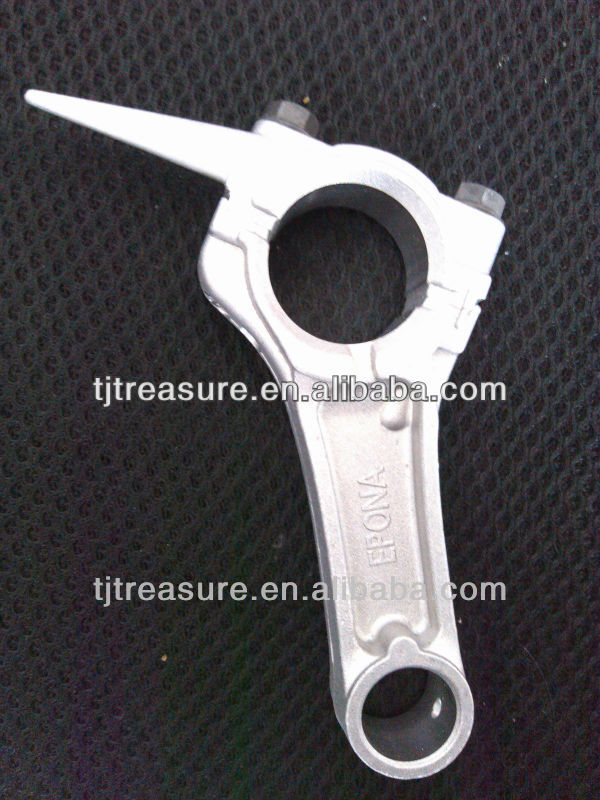 tianjin treasure motorcycle <strong>connecting</strong> <strong>rod</strong> for generator engine parts with low price OEM quality