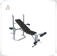 Fitness Exercise Equipment Abdominal Muscle Trainer Hand Weight Workout Adjustable Bench