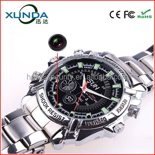 W2000 HD1080P Watch Hidden Camera with Night Vision for Spi
