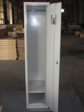 Simple design single door steel locker cabinet for staff