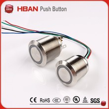 momentary switch micro push button switch 12vdc 50mA