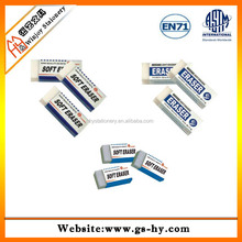 HY-F004 office use white eraser by professional dry erase marker
