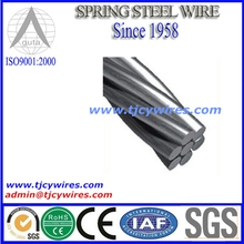 galvanized steel strand for guy wire or barrier cable