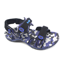 domestic use leather flat sandals for men