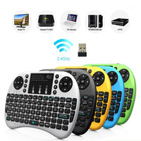 new products 2016 2.4G wireless air fly mouse keyboard for macbook air mouse for android tv box
