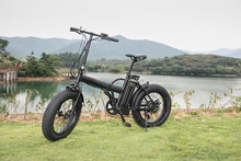 China factory electric bike green city with DMHC display