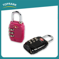TOPRANK combination tsa lock for luggage, tsa luggage lock password, 3 digital combination lock TSA approved