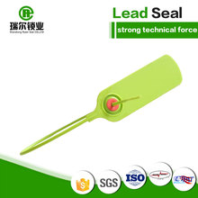 REP007 seal cracked plastic lead security seals