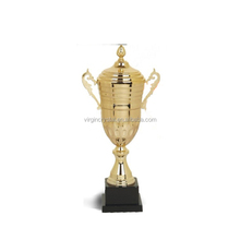 Cheap large metal gold sport souvenir trophy cup victory trophies and medals