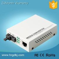 Fast delivery 10/100M telecom optical communication 20km fiber ethernet media converter