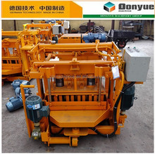 QT40-3A low investment small concrete roof tile making machine