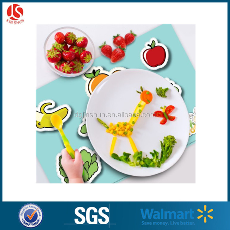 disposable placemats baby plastic pp play mats vinyl table kids snack topper wholesale