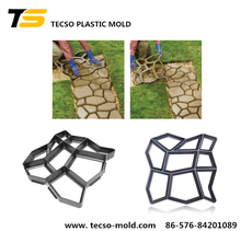 OEM injection mold for plastic pavement mold diy yard essential tool cement garden