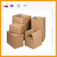 China printed full color corrugated cardboard boxes,recycled brown paper carton box