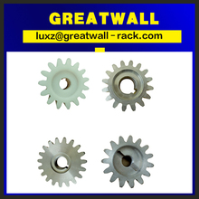 Greatwall m3-m8 stainless steel gears small rack and pinion gears for sliding gate, slush machine