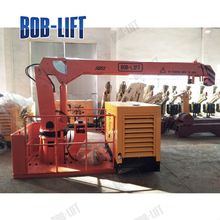 used small hydraulic deck crane for sale