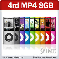 1.8inch screen 4rd mp4 player 8GB. special offer
