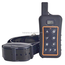 Fashion Electronic 1200m Pet leather Remote Control training dog collar