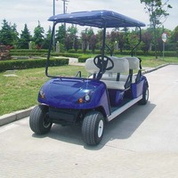 Electric 4 Person Golf Cart DG-C4 with CE certificate from China
