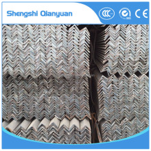 q345 MS equal/unequal black & galvanized steel angle iron bar used for building material